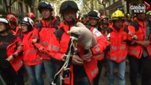 Firefighters join independence demonstrations in Barcelona