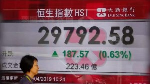 US/China trade war causing turmoil in global financial markets
