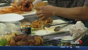 In the Global Edmonton kitchen with Rostizado