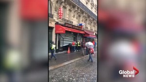 Paris shop looted during Yellow Vests protests
