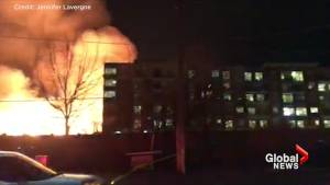 Emergency crews responding to large fire in Mississauga