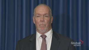 B.C. premier addresses taxpayer funded donations