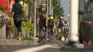 Bloor bike lane rules not being followed: cyclists (02:36)