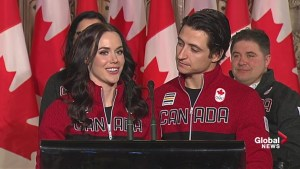Being named flag bearers the 'pinnacle' of Virtue, Moir's careers