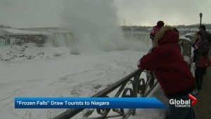 Niagara Falls worth visiting despite bitter cold temperatures