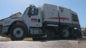 Street sweeping begins with overdue spring start around Calgary