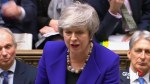Theresa May says no-deal vote 'cannot be end of the story'