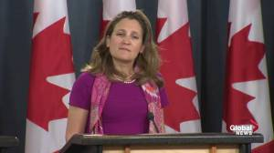 Freeland: Money committed  Rohingya crisis is commensurate to size of the crisis