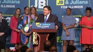 Midterm Elections: J.B. Pritzker gives victory speech after winning