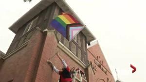 New Pride flag flies at Calgary Church