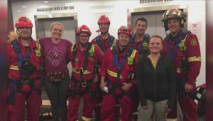 High-angle rescue at the Calgary Tower