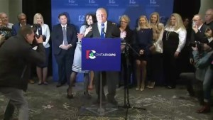 PC Party leadership vote ends in dramatic fashion
