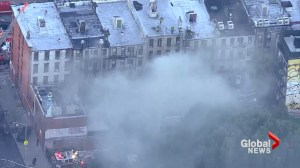 Several people injured after fire rips through East Village apartment building in New York