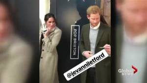 This guy really wants to be the DJ at Prince Harry's wedding