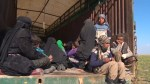 Trucks evacuate civilians from last Islamic State pockets in Syria