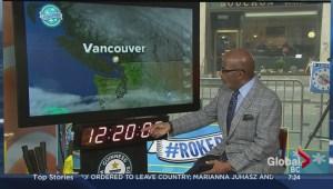 Al Roker does B.C. weather