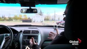 SGI distracted driving demonstration