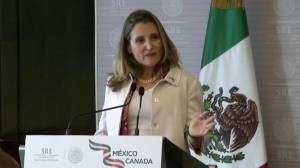Canada remains 'strongly opposed' to sunset clause in NAFTA: Freeland