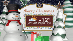 Saskatoon weather outlook -20 wind chills return for Christmas