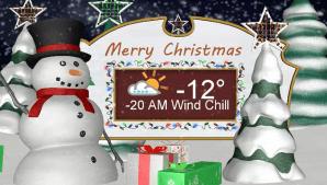 Saskatoon weather outlook -20 wind chills return for Christmas