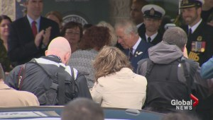Royals meet with military families