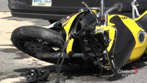 Motorcyclist seriously injured in collision in Selwyn Township