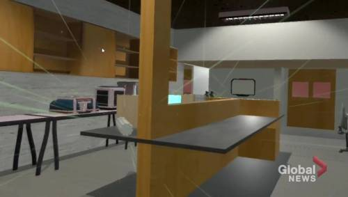 Ontario Tech Students use virtual reality to visualize radiation