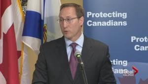 Peter Mackay defends Prevention of Terrorist Act in Halifax