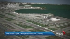 Air Canada has close call in San Francisco