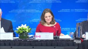 Freeland calls North Korea 'one of the greatest threats' to the world