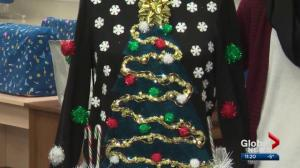 Our YEG at Night: How to make your own DYI ugly Christmas sweater