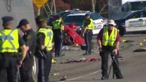 Woman killed in Hamilton crash may have been abducted