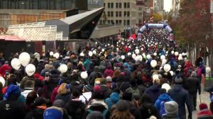 La Grande Marche draws thousands