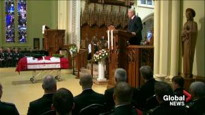 Prime Minister Harper delivers eulogy at Corporal Cirillo's funeral
