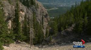 Witness recalls Calgary woman being struck by rock before falling in mountain tragedy