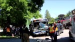 81-year old man dies after collision with transit bus