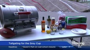 Hosting the perfect Grey Cup tailgating party