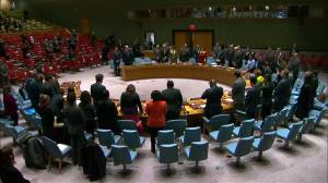 UN Security Council holds moment of silence for Pittsburgh synagogue shooting victims