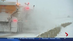 QEII slick north of Calgary, several crashes reported: RCMP