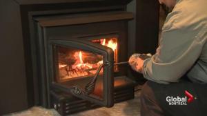 Baie d'Urfé wood stove debate