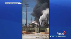Work resumes after explosion at Syncrude facility near Fort McMurray