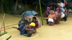 Rohingya refugees forced from temporary shelters by Bangladesh floods