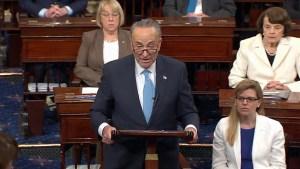 U.S. Senator Chuck Schumer calls FBI Director Comey's firing part of a 'troubling pattern'
