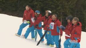 Ski instructors compete at Silver Star