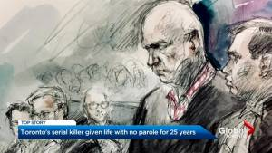 Serial killer Bruce McArthur sentenced to life in prison with no chance of parole for 25 years