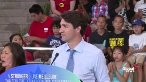 Trudeau announces boost to Canada Child Benefit
