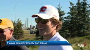 Calgary Flames celebrity charity golf tournament tees off!
