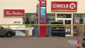 Two officers shot, one man dead after early morning gas station shooting in Burlington