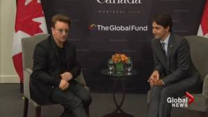 World's rich and powerful converge in Montreal for Global Fund Conference (03:09)