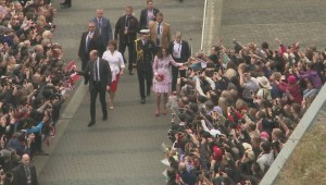 Crowds gather for royal tour in Vancouver